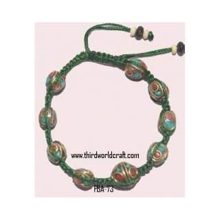 Metal Bead Bracelets FBA-73