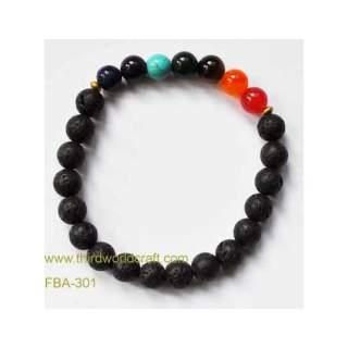 Lava Bead Bracelets FBA-301