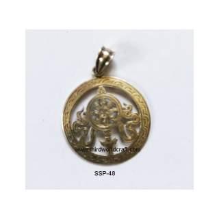 92.5 Sterling Silver Pendant SSP-48