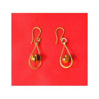 Brass Wire Fashion Earring GSE-153