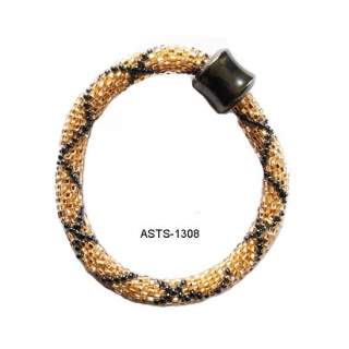 Bead Bracelets w/Hematite ASTs-1308