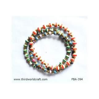 Paper Bead Bracelets FBA-394