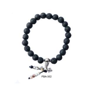 Lava Bead Bracelets FBA-352