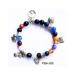 Onyx Bead Bracelets FBA-359