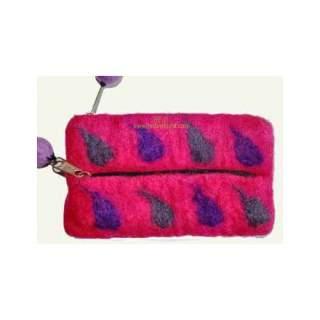 Felt key purse FBP-01