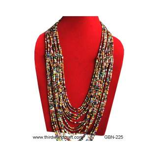 Bead Necklace GBN-225