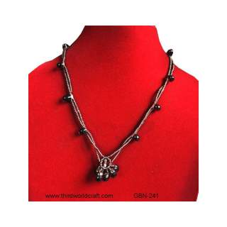Glass Bead Necklace GBN-241