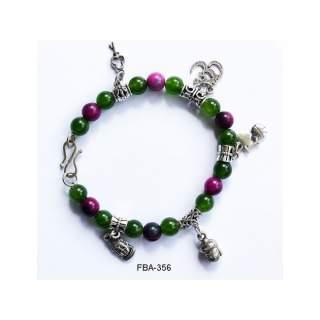 Onyx Bead Bracelets FBA-356