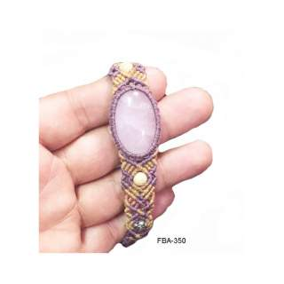 Bracelets w/stone  FBA-350