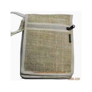 Hemp Passport Bag CSB-228