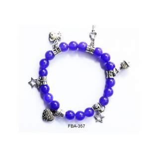 Onyx Bead Bracelets FBA-357