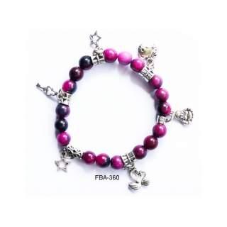 Onyx Bead Bracelets FBA-360
