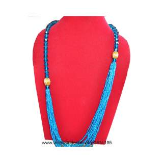 Glass Bead Necklace GBN-195