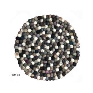 Felt Ball Floor  Mat FBM-68