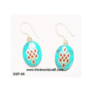 Turquoise Earing SSP-88