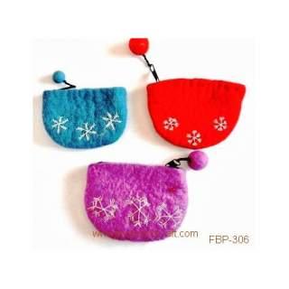 Felt purse FBP-306