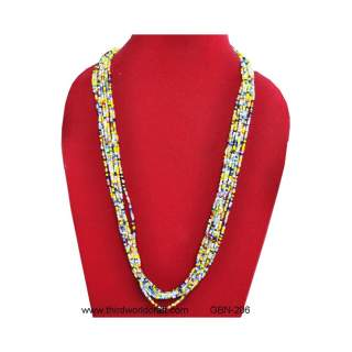 Glass Bead Necklace GBN-206
