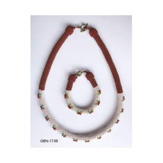 Bead Necklace GBN-173B