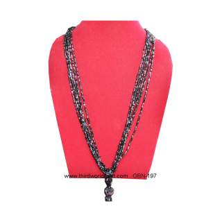 Glass Bead Necklace GBN-197