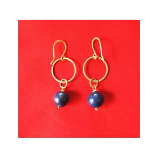 Brass Wire Fashion Earring GSE-157