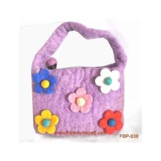 Felt purse FBP-038