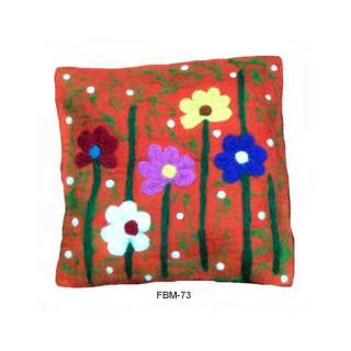 Felt  wool cushion  FBM-73