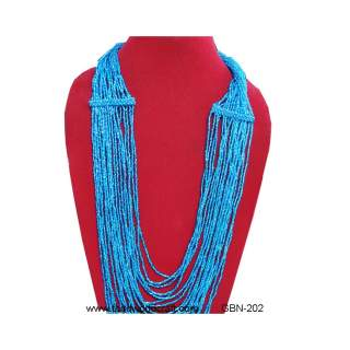 Glass Bead Necklace GBN-202