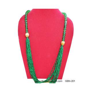 Glass Bead Necklace GBN-201